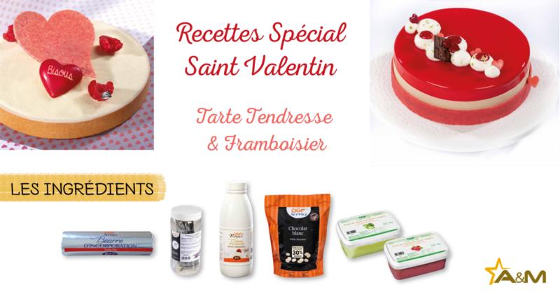 Recettes St Valentin